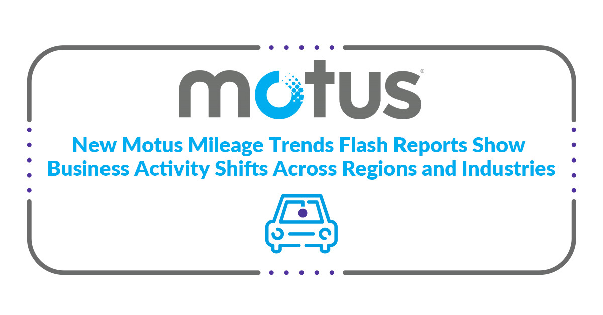 motus mileage trends flash report