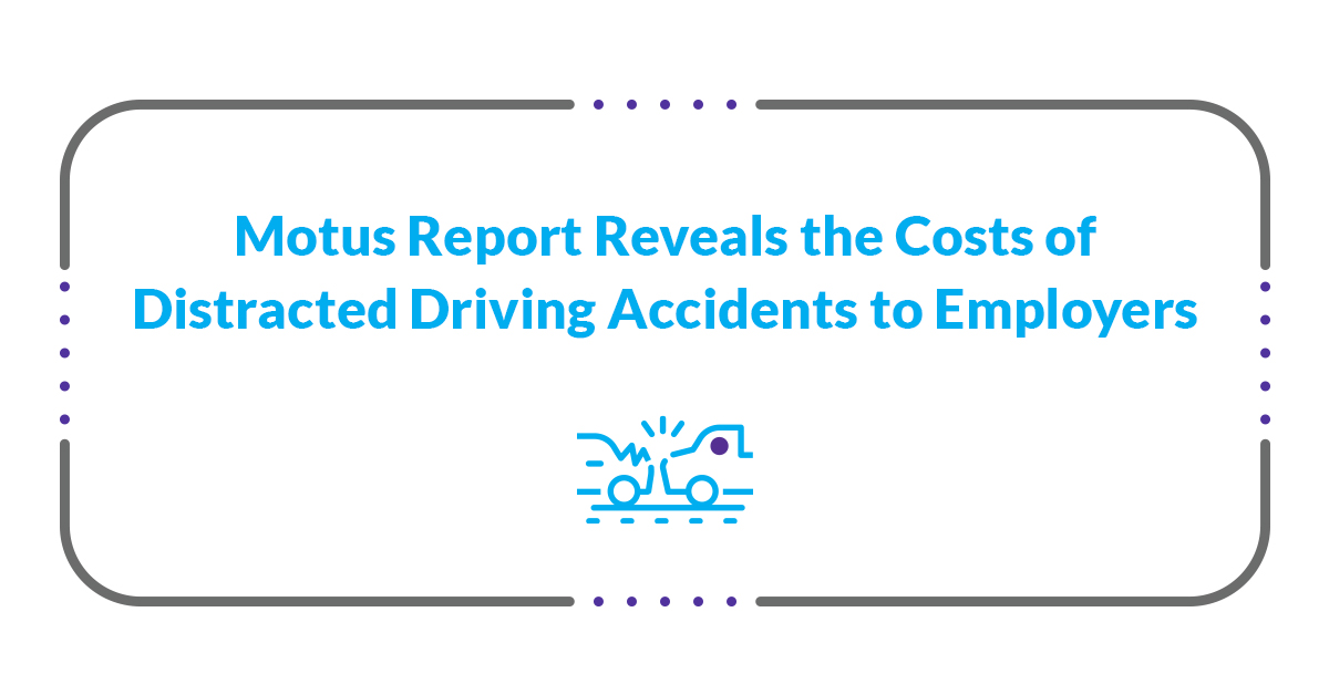 costs of distracted driving accidents